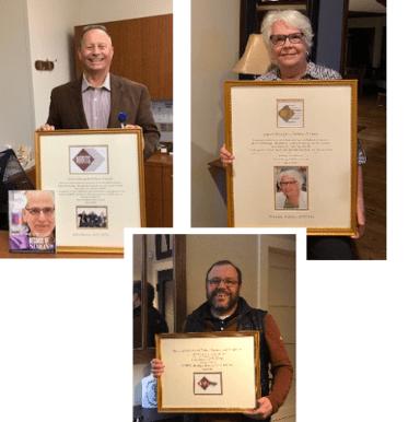 Prestigious awards presented during NRRTS Open Meeting