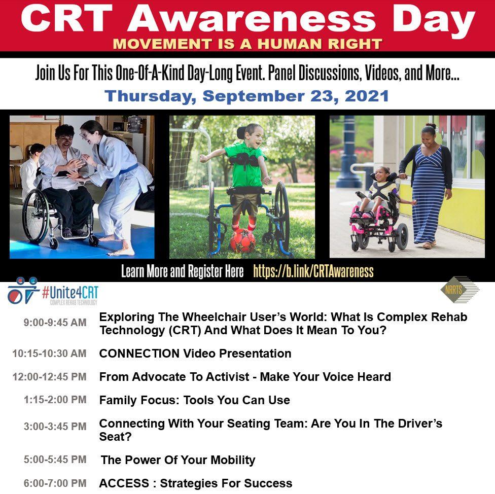 Unite4CRT – CRT Awareness Day, 9/23/2021
