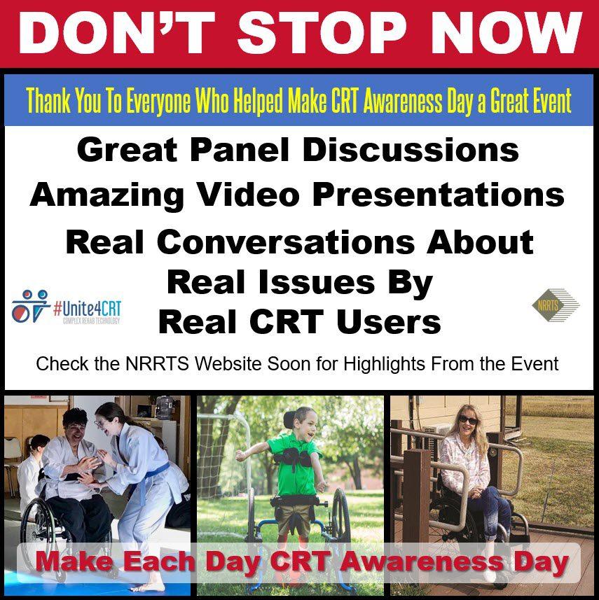 CRT Awareness Day Success